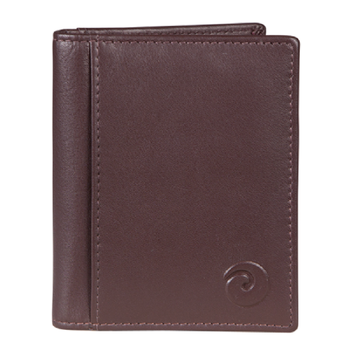 Mala Leather Mens Origin Card Wallet in Brown Leather with RFID Protection